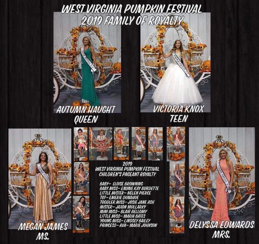 Pageants | WV Pumpkin Park in Milton, WV